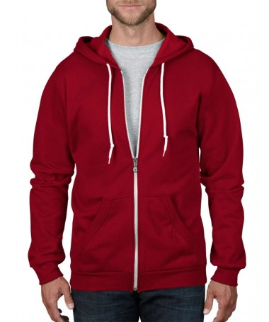Full Zip Hooded fleece AN...