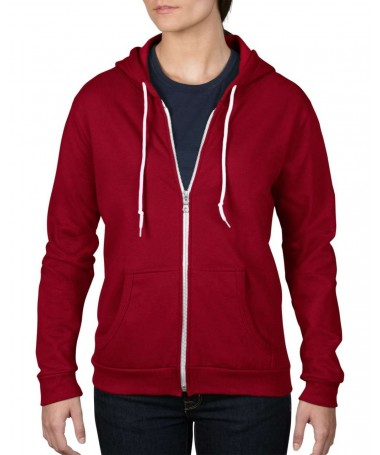 Women's Full Zip Hooded...