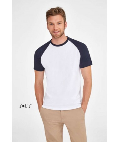 Funky Men's 2 color Raglan...