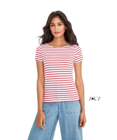 Miles women striped t-shirt...
