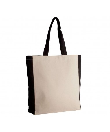 KI0275 TWO-TONE TOTE BAG