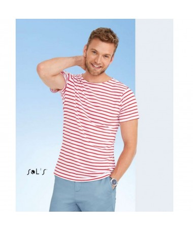 Miles men striped t shirt...